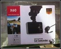 HD Portable DVR X60
