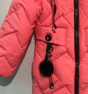 Фото Куртки, комбинезоны, пальто, жилетки ДЕВОЧКАМ ЗИМА. Пальто девочка от 6 до 10 лет