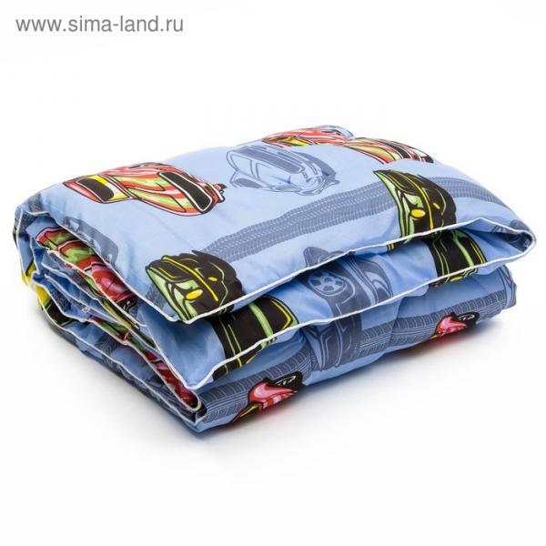 Одеяло АДЕЛЬ Стандарт шерсть Зима 105*140 , пэ100%