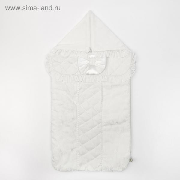 "Конверт ""Фламинго"", 37х74 см, цвет белый, сатин/хф 16/0"