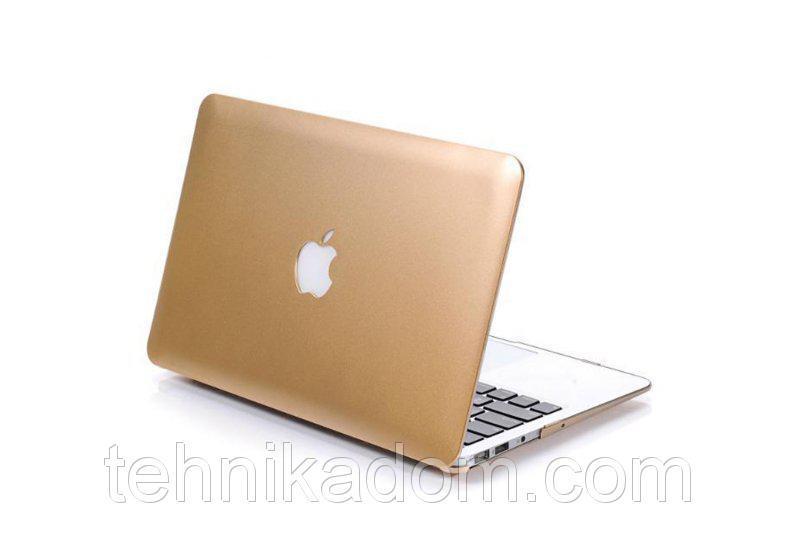 Пластиковый чехол Grand для MacBook Pro 15 New Золотой (AL553_15pro_new)