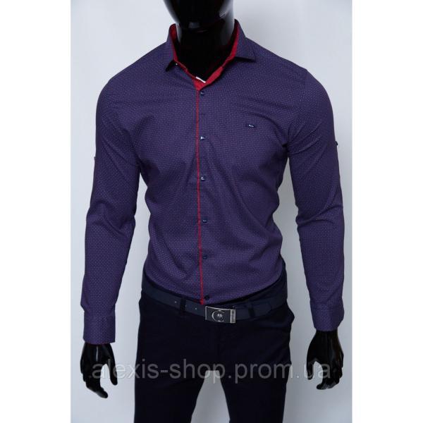 Рубашка мужская Paul Smith 7196_1 синяя