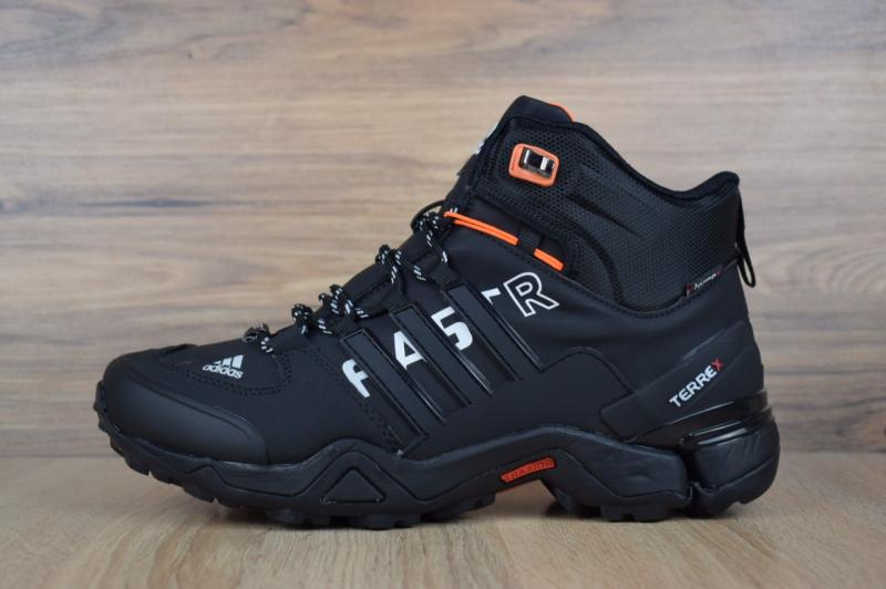 Adidas Fastr Black Orange (41-46)