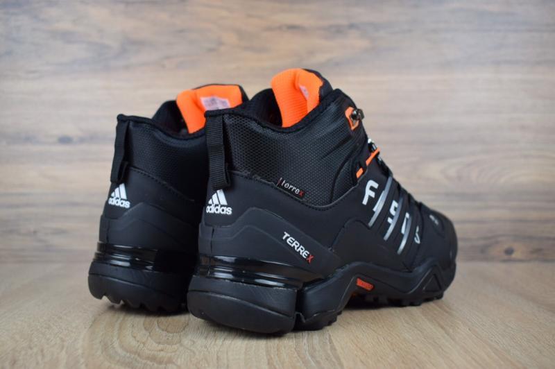 Фото  Adidas Fastr Black Orange (41-46)
