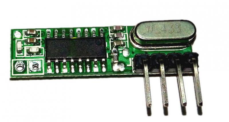 Супергетеродинный приемник 433 mhz