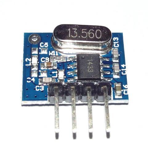 Плата передатчика 433 мГц аrduino