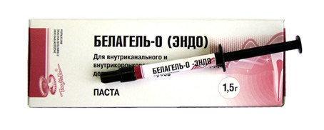 Белагель О 60% (эндо), 1,5 мл.