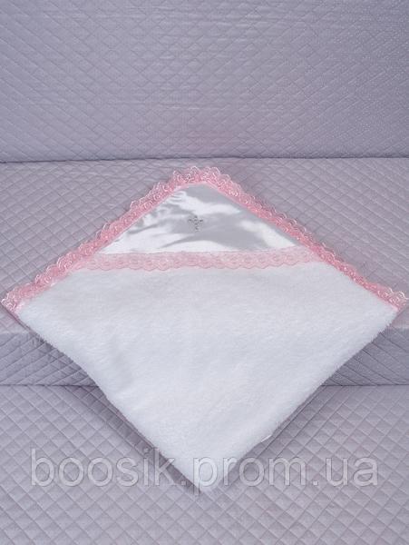 Крыжма махровая ТМ Lari розовый