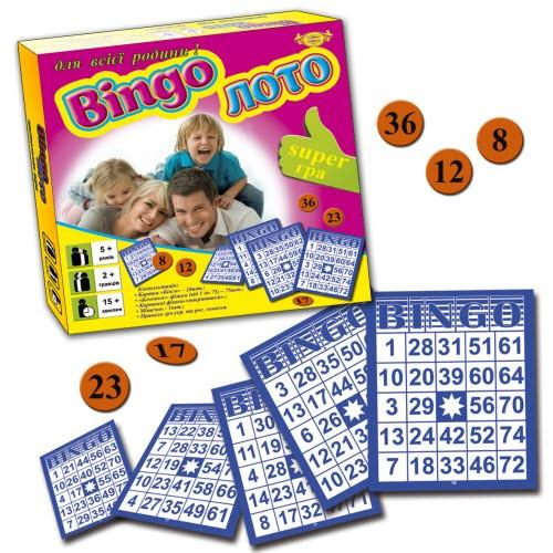 "Гра ""Bingo Лото"""