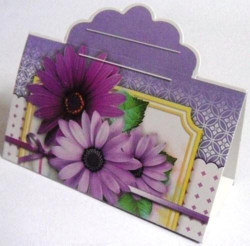 Банкетка (рассадочная карточка) в ассортименте