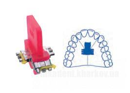 Фото Для стоматологических клиник, Ортодонтия, Винты ортодонтические Винт трехсторонний по Бертони с 2-мя  направляющими (Leone) А0931-14
