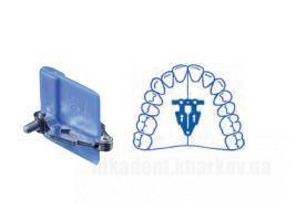 Фото Для стоматологических клиник, Ортодонтия, Винты ортодонтические Симметричный веерообразный винт на верхнюю челюсть (Leone)  А0515-14