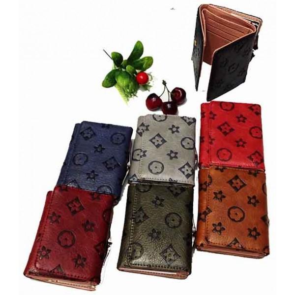 Женский кошелек Louis Vuitton Артикул 55280 7-цветах