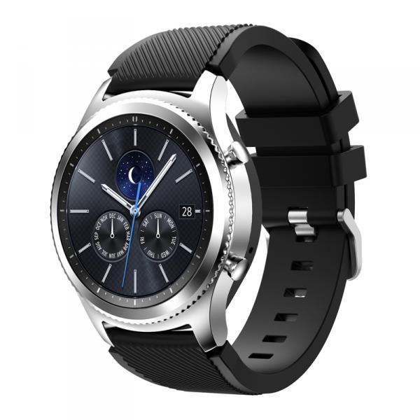 Ремешок для Samsung Gear S3 черного цвета