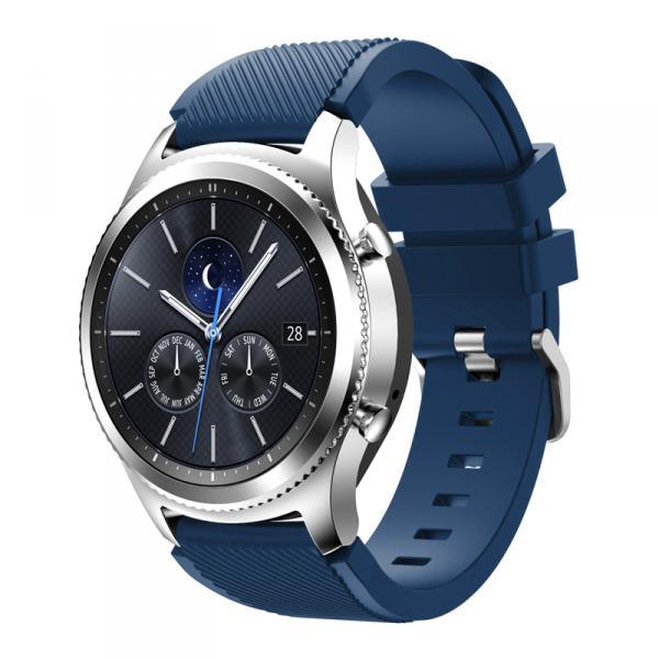Ремешок для Samsung Gear S3 синего цвета
