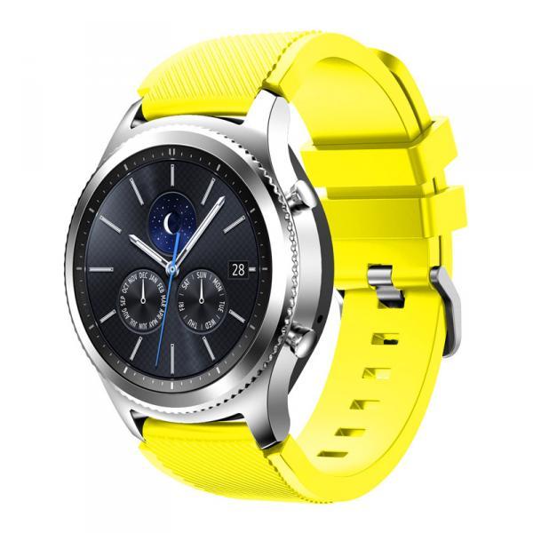 Ремешок для Samsung Gear S3 желтого цвета
