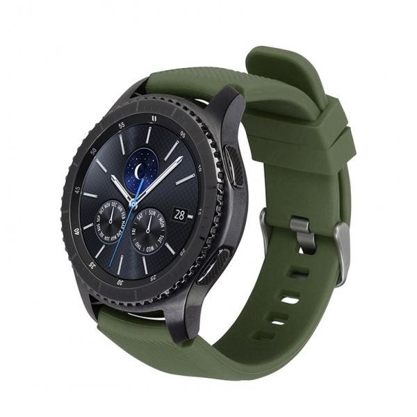 Ремешок для Samsung Gear S3 зеленого цвета