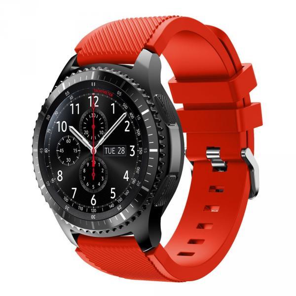 Ремешок для Samsung Gear S3 красного цвета