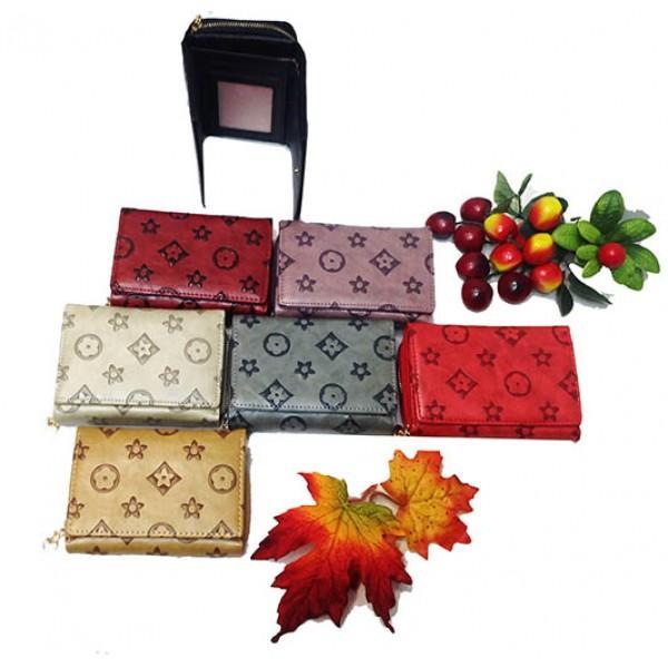 Женский кошелек Louis Vuitton Артикул 23055 в цветах