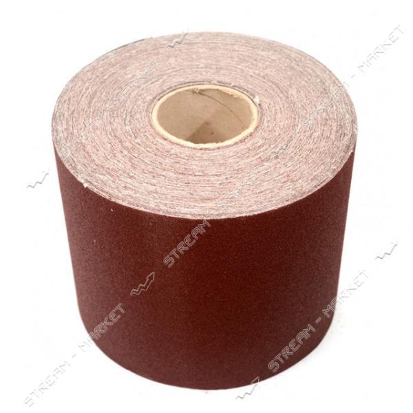 Шкурка шлифовальная MASTERTOOL 08-2710 на тканевой основе Р 100 200мм 50м