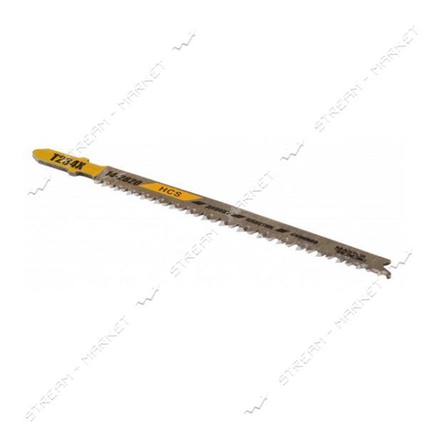 Пильное полотно MASTERTOOL 14-2820 для лобзика по дереву PROGRESSOR T234X 5шт