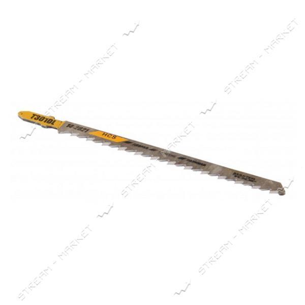 Пильное полотно MASTERTOOL 14-2821 для лобзика по дереву Т301DL 5шт