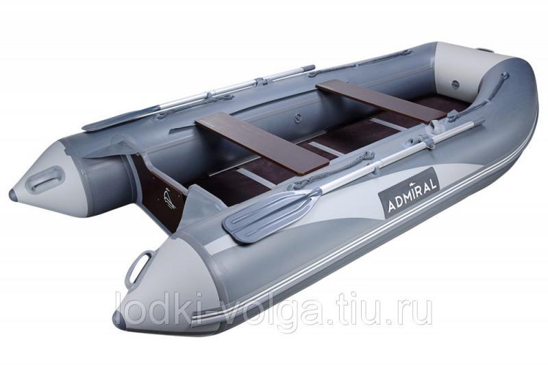 Лодка Адмирал 335 Серая