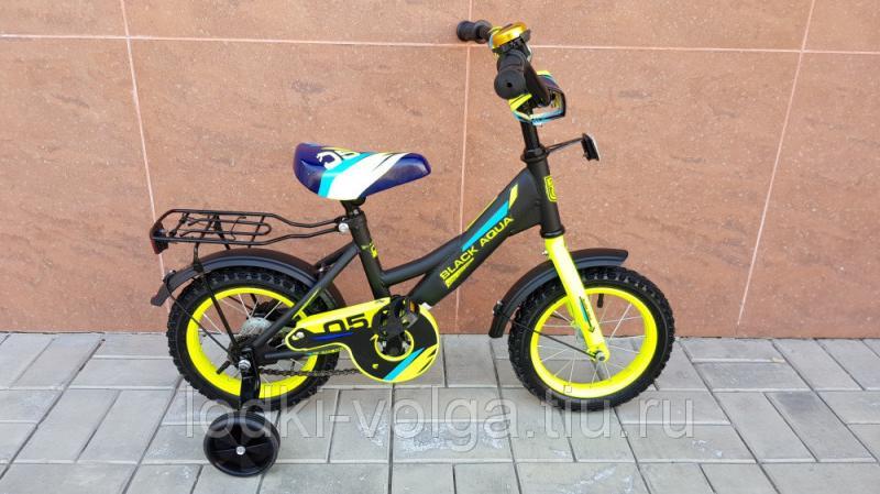 Велосипед BlackAqua 1205 (черно-лимонный)