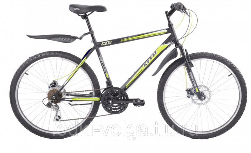 """Велосипед MTR Phantom D / 230D 26""""  (черно-зеленый)"""