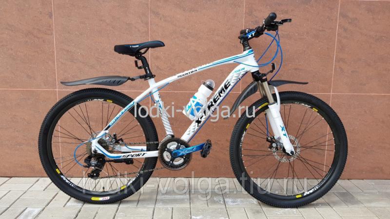 Велосипед X-TREME XT26002AL-24 (бело/синий)