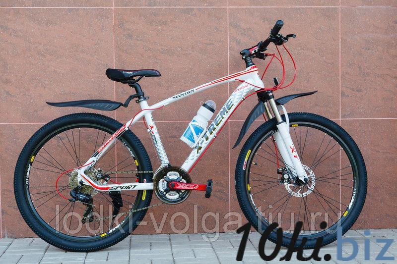 Велосипед X-TREME XT26002AL-27SP (алюминий, 27 скор.) (бело/красный) Велосипеды в России