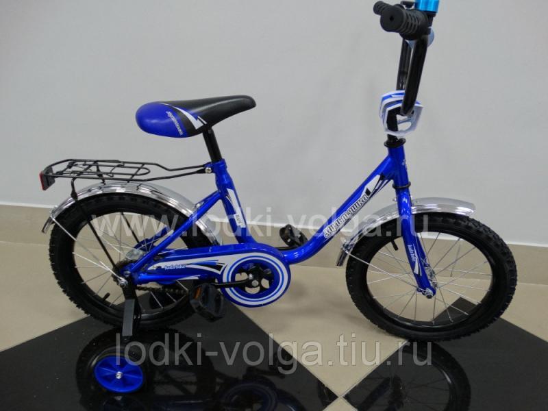 """Велосипед МУЛЬТЯШКА 1604 16""""; 1s (синий)"""