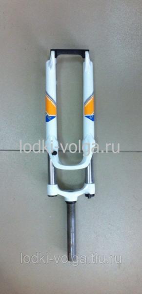 Вилка велосипедная амортизационная алюминиевая литая