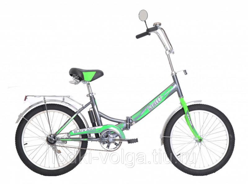 """Велосипед BA Street Beat 121 20"""" (серо-зеленый)"""
