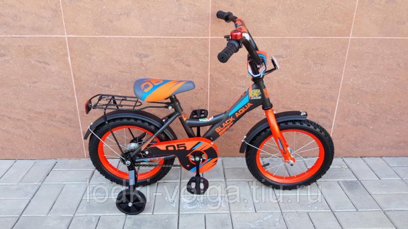 Велосипед BlackAqua 1405-T (серо-красный)
