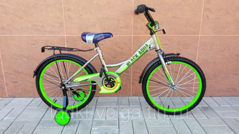 Велосипед BlackAqua 2001 (серо-зеленый)