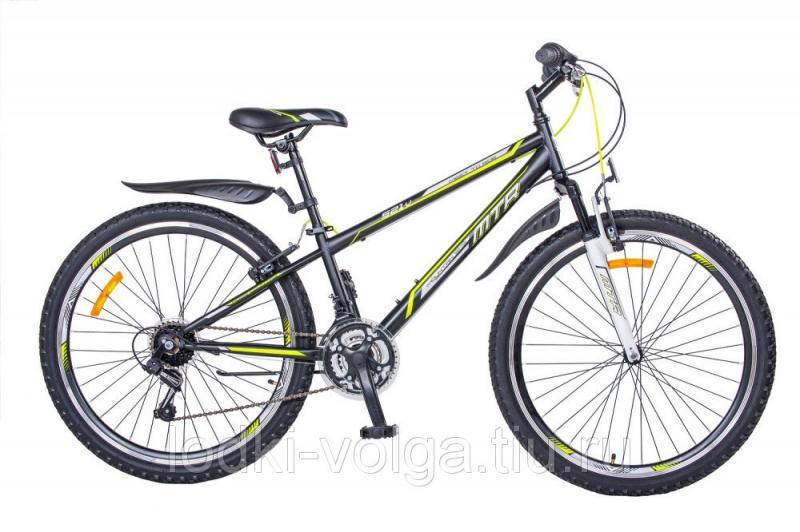 Велосипед MTR 521V 26 (черный-лимон)