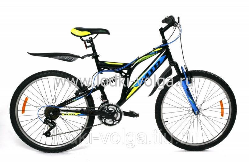 Велосипед MTR 724V 24'' (лимонный)