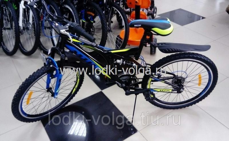 Велосипед MTR 724V 24'' (черный)