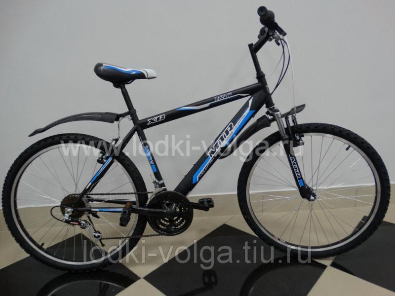 "Велосипед MTR Dynamite V / 120V 26"" (черно-синий)"