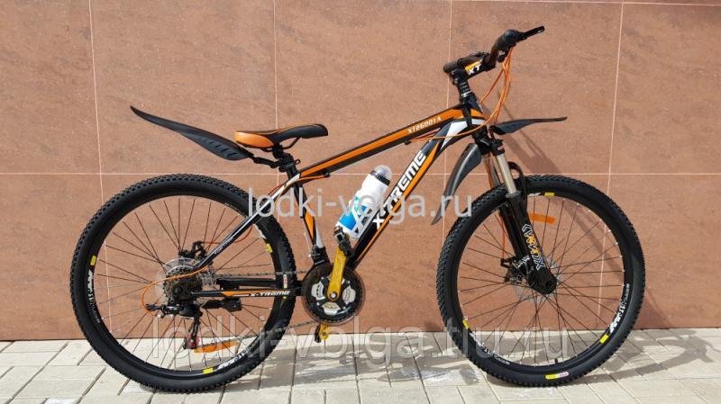 Велосипед X-TREME XT26001A (черно/оранжевый) 21 скорость