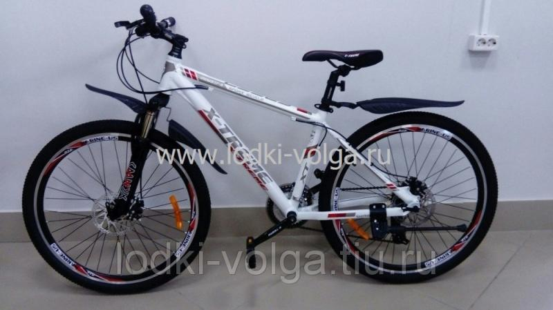 Велосипед X-TREME XT26001AL-24 (бело/красный)