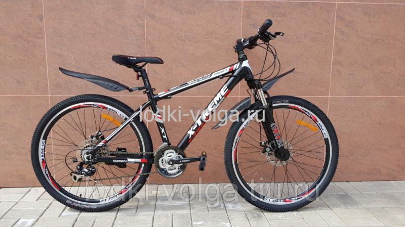 Велосипед X-TREME XT26001AL-24 (черно/красный)