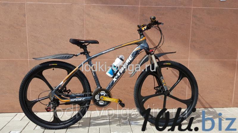 Велосипед X-TREME XT26001WH (серо/оранжевый) 21 скорость Велосипеды в России