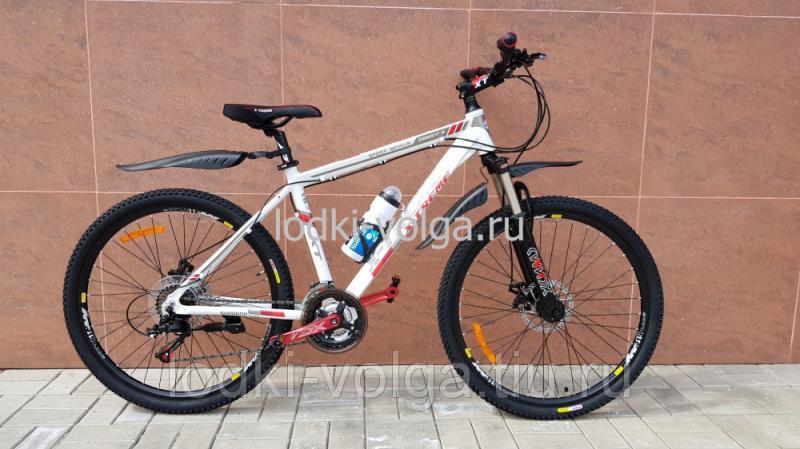 Велосипед X-TREME XT26002AL (бело/красный) 21 скорость