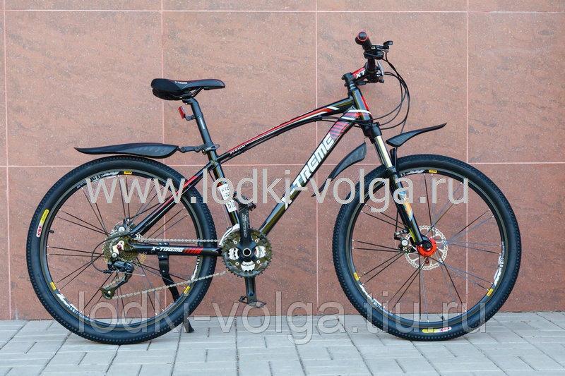 Велосипед X-TREME XT26004AL-27 (черно/красный)