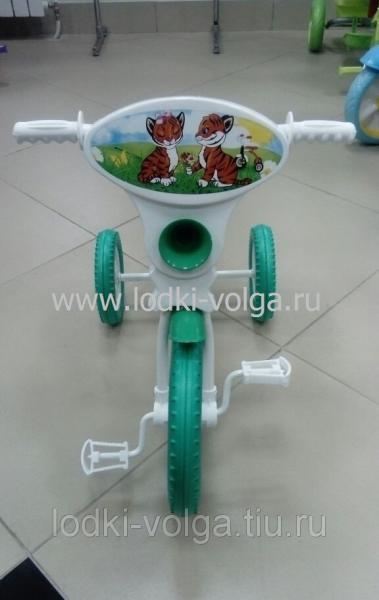 Велосипед МАЛЫШ 3-х колесный базовый (пластиковые колеса)