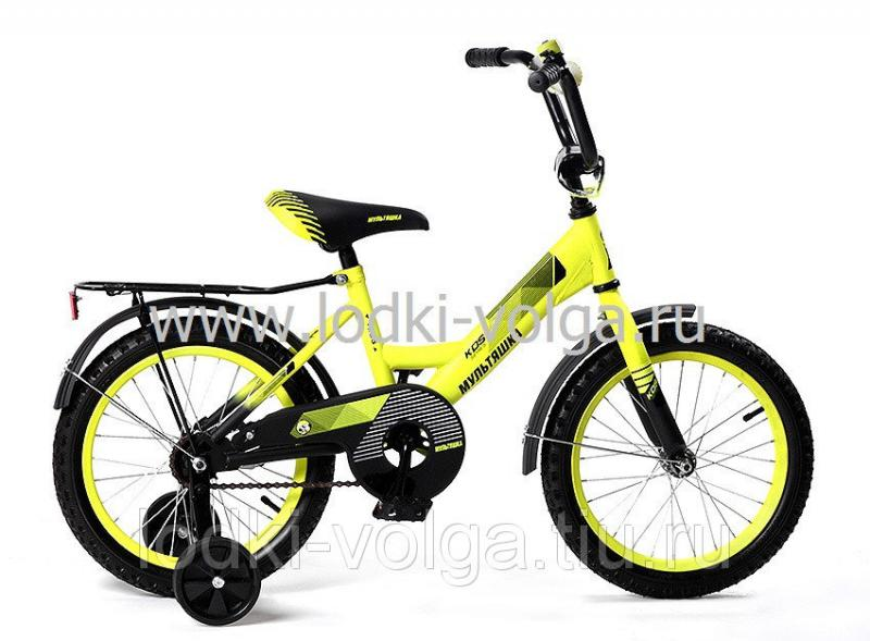 Велосипед МУЛЬТЯШКА 1205 12''; 1s (желтый)