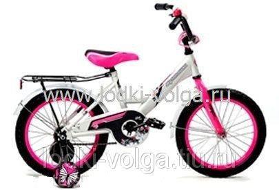 Велосипед МУЛЬТЯШКА 1206 12''; 1s (белый)