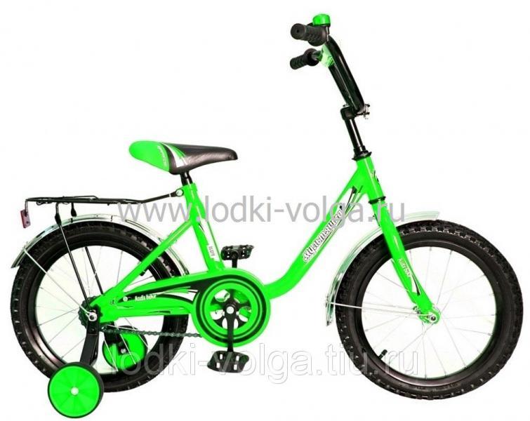 """Велосипед МУЛЬТЯШКА 1604 16""""; 1s (зеленый)"""
